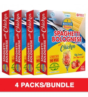 3 Minutes Spaghetti Bolognese With Chicken (280g x 4)