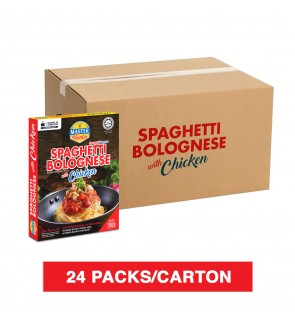 (1 Carton) 3-Minute Spaghetti Bolognese With Chicken (280g x 24)