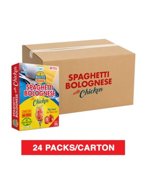 (1 Carton) 3 Minutes Spaghetti Bolognese With Chicken (280g x 24)