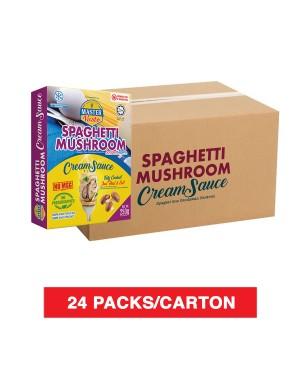 (1 Carton) 3 Minutes Spaghetti Mushroom Cream Sauce (250g x 24)