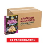 (1 Carton) 3-Minute Spaghetti Mushroom Cream Sauce (280g x 24)