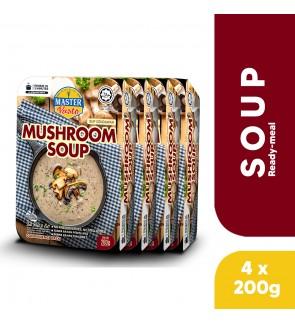 (4-Pack Bundle) 3-Minute Mushroom Soup (200g x 4)