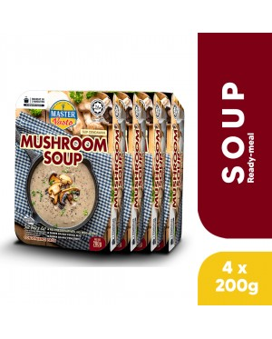 (4-Pack Bundle) 3-Minute Mushroom Soup (200g x 4)