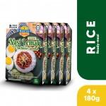 (4-Pack Bundle) 3-Minute Nasi Lemak with Anchovies Sambal (180g x 4)