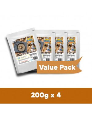 (4-Pack Bundle) Mushroom Soup Value Pack