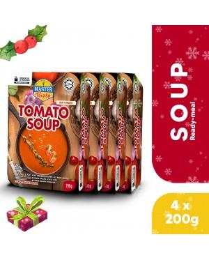 (4-Pack Bundle) 3-Minute Tomato Soup (200g x 4)