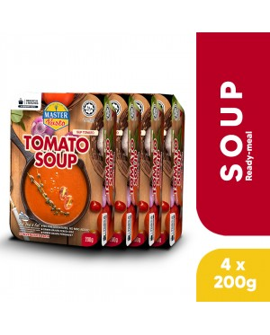 (4-Pack Bundle) 3-Minute Tomato Soup (200g x 4)