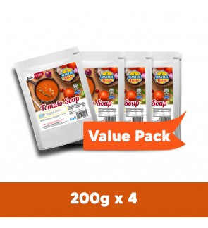Tomato SOUP Value Pack (200g x 4)