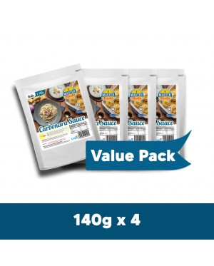 Carbonara Sauce Value Pack (140g x 4)