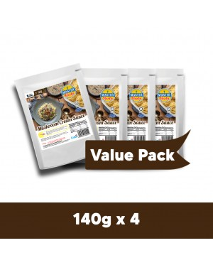Mushroom Cream Sauce Value Pack (140g x 4)