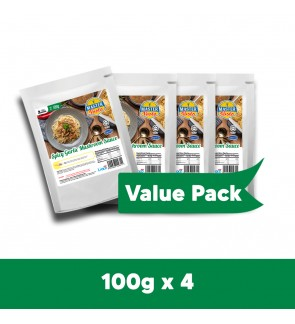 Spicy Garlic Mushroom Sauce Value Pack (100g x 4)