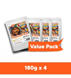 Kapitan Paste Sauce Value Pack (180g x 4)