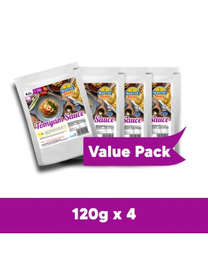 Tomyam Sauce Value Pack (120g x 4)