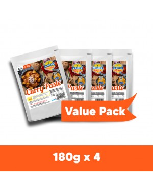 Curry Paste Sauce Value Pack (180g x 4)