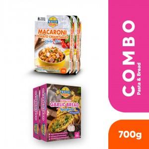 Bread & Macaroni Combo (2 x Bread + 2 x Macaroni)