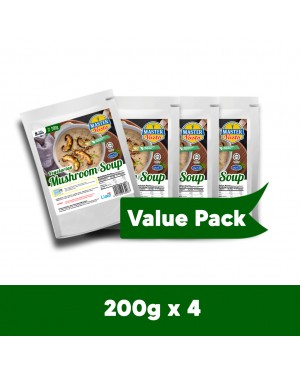 (4-Pack Bundle) Vegetarian Mushroom Soup (200g x 4)