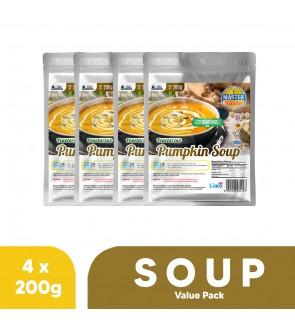 Vegetarian Pumpkin Soup Value Pack (200g x 4)